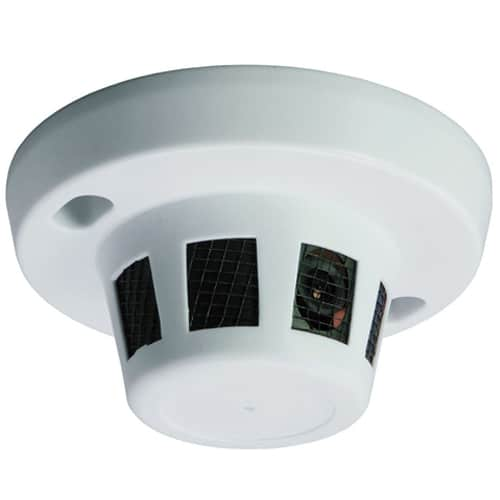 Covert Camera Smoke Detector