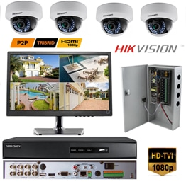 Hikvision CCTV Commercial Package