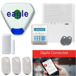 Agility 3 Wireless Alarm With DigiAir Connected