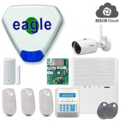 Agility 3 Wireless Home Security Alarm With IP Camera
